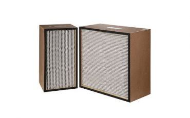 Compact HEPA Filter with Aluminium Seperator