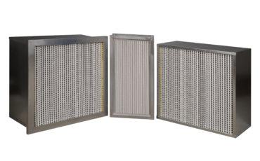 Alüminyum Seperatörlü Kompakt HEPA Filtre
