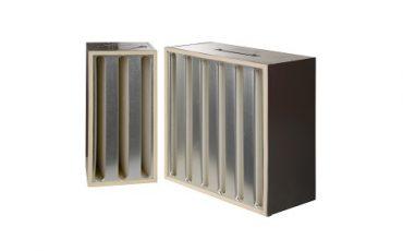 High Capacity HEPA Filter V-Modul